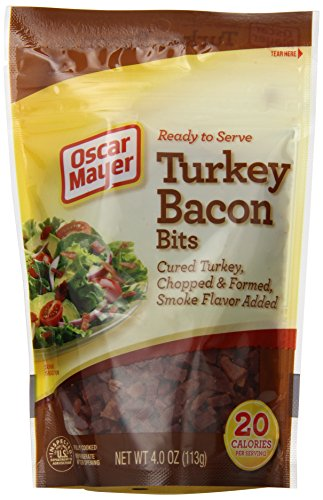 Fully Cooked Turkey (Oscar Mayer Fully Cooked Smoke Turkey Bacon Bits, 4 Ounce )
