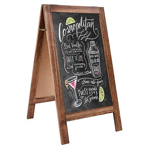 Chalkboard Sandwich Wedding Sidewalk Standing product image