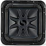 Kicker L7S Solo-Baric 10 Inch 1200 Watt 4 Ohm DVC Square Subwoofer | 44L7S104