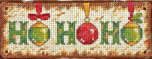 Collection Counted Cross Stitch Pattern (Dimensions Needlecrafts Counted Cross Stitch, Ho Ho Ho Ornament)