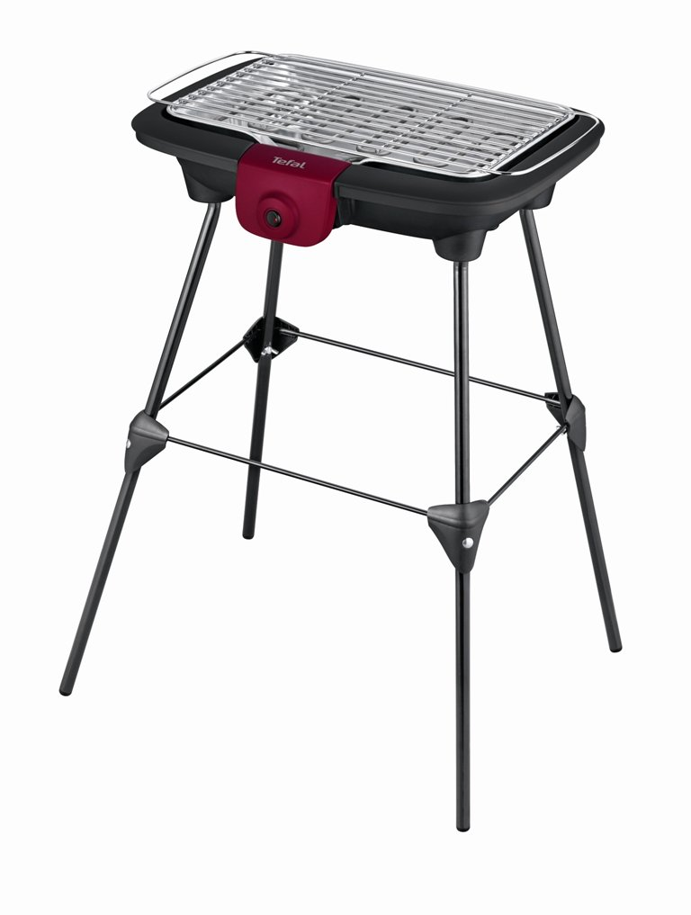 Tefal BG904812 Barbecue Electrique Noir/ Bordeaux 2200 W
