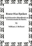 Rome Has Spoken, William Detucci, 1105568067