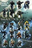 "Halo Reach - Gaming Poster (Character Collage) (Size: 24"" x 36"")"