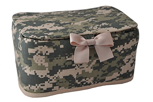 Military-theme Designer Wipes Dispenser, Army