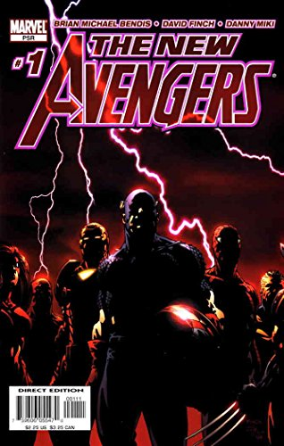 New Avengers #1 FN ; Marvel comic book