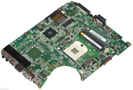 TOSHIBA A000075380 Toshiba L655D Intel Laptop Motherboard s989, 31BL6MB0000, DA0BL6 > Motherboards > Toshiba Satellite L655 Intel Motherboard A000075380