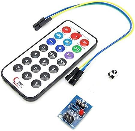 TELECOMANDO a infrarossi modulo HX1838 NEC CODICE telecomando a infrarossi