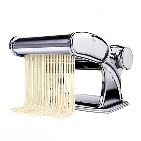 Amazon.com: Pasta Maker by Shule - Máquina de pasta de acero ...