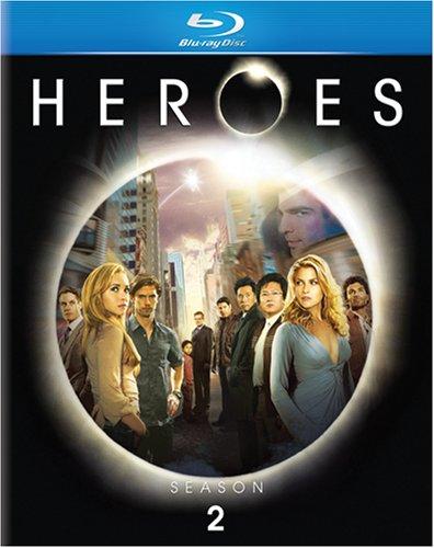 Blu-ray : Heroes: Season 2 (Dolby, AC-3, , Digipack Packaging, Slipsleeve Packaging)