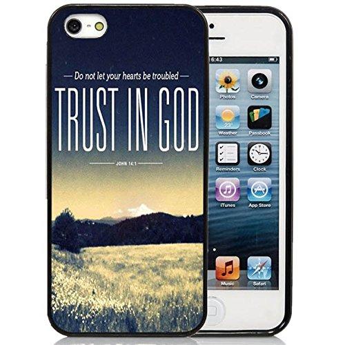 iPhone SE Case, iPhone 5SE Case, Dsigo TPU Full Cover Protective Case for Apple iPhone SE 5SE (2016 Release) - Catcher John 14: 1