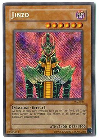 Yu Gi Oh Jinzo (PSV-000) - Pharaohs Servant - Unlimited ...