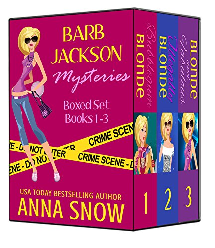 Barb Jackson Mysteries Boxed Set (Books 1-3) by [Snow, Anna]