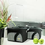 Happy To Go Adult Insulated Lunch Box Bag for Men and Women - Set of 2