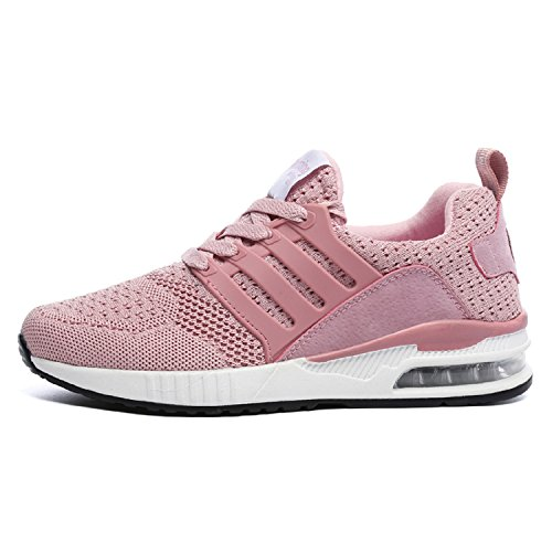 Breathable Athletic Gym Trainers Sneakers H Pink Running Shoes Air Absorbing Fitness Lightweight Women Mastery Jogging Sports Shock Men Casual Z10qZaf