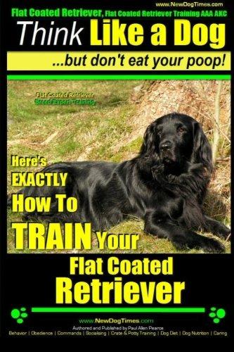Flat Coated Retriever, Flat Coated Retriever Training AAA AKC | Think Like a Dog ~ But Don't Eat Your Poop! | Flat Coated Retriever Breed Expert ... TRAIN Your Flat ()