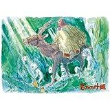 108ピース ジグソーパズル スタジオジブリ イメージアートシリーズ もののけ姫 深き森の中を  (18.2x25.7cm)