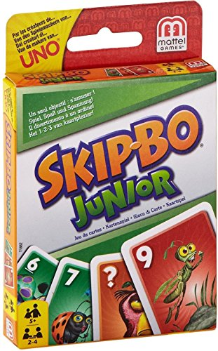 Mattel Games Skip-Bo Junior Card -