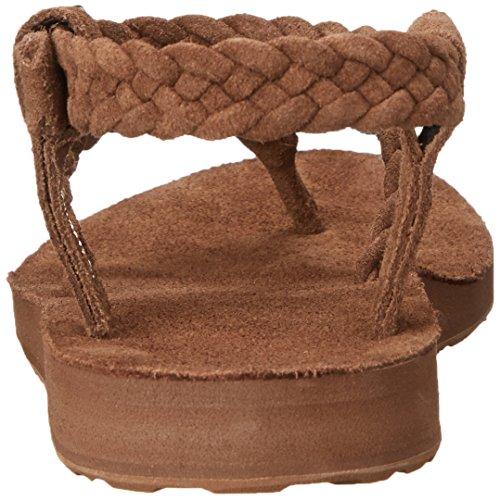 Teva Damen W Original Suede Braid Knöchel Strap Sandale Bison