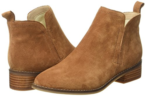 tan 01 0 Dames Buffalo 7396 Suede Marron 416 Cow Pour Bottines nFwz8