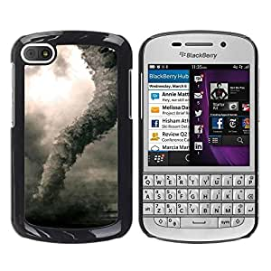 LECELL -- Funda protectora / Cubierta / Piel For BlackBerry Q10 -- Plant Nature Forrest Flower 64 --