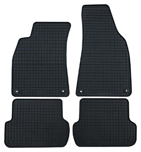 Gummi Fußmatten Gummifußmatten Gummifußmatten 4-teiliger Satz Citroen C3 ab 2010 Original Qualität Auto Gummimatten Tuning 4-teilig schwarz