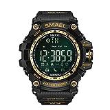 Mens Cool Digital Watch 2017 Call SMS Notification Sport Smartwatch Digital Resin Watch for Men Women