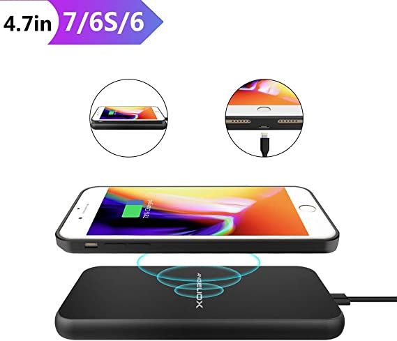 Amazon.com: Cargador inalámbrico para iPhone, Samsung, LG ...