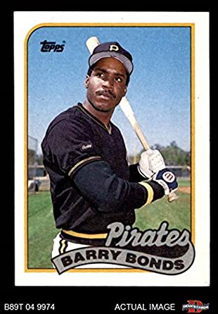 f3a215463d4 1989 Topps   620 Barry Bonds Pittsburgh Pirates (Baseball Card) Dean s Cards  8 -