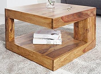Dunord Design Couchtisch Sofatisch Goa 60cm Palisander Massiv Holz