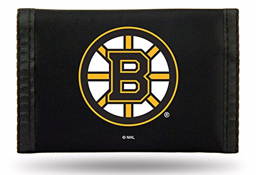 Boston Bruins Jersey Purse - Rico Industries NHL Boston Bruins Nylon Trifold Wallet