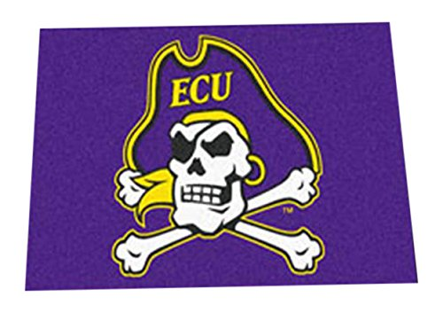 Carolina Pirates East Rug - Fanmats 1299 Baylor Starter Rug