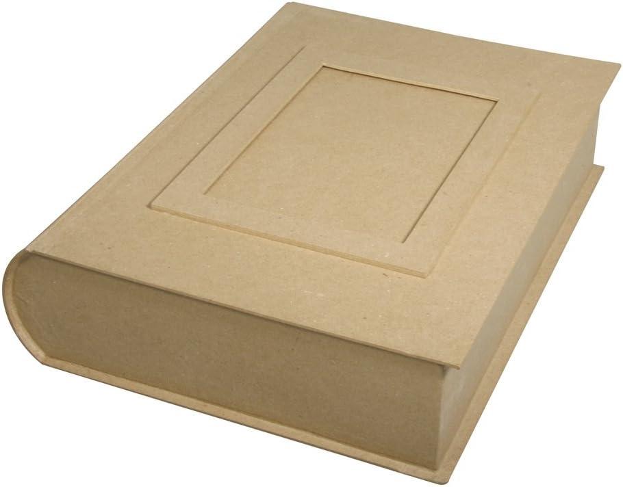 Jumbo Caja en forma de libro de papel maché para decorar 34 x 27 x ...