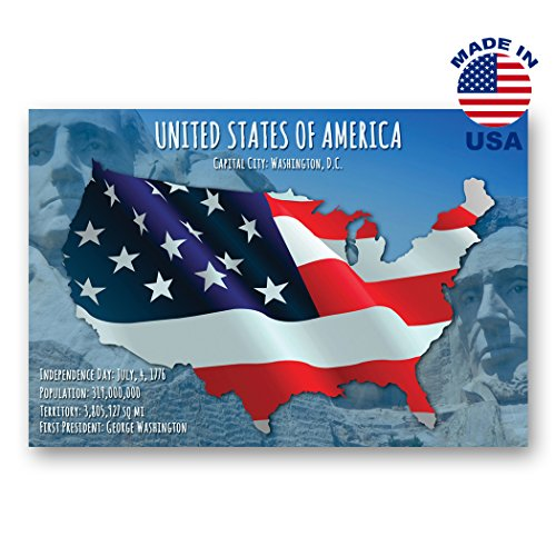 ostcard set of 20 identical postcards. American state flag post cards. Made in USA. ()