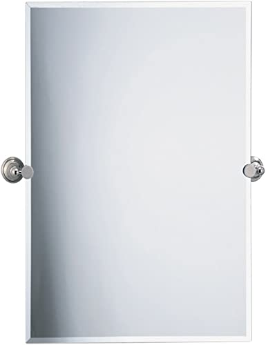 Gatco 4589S Laurel Ave. Rectangle Wall Mirror, Polished Nickel