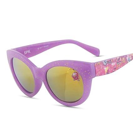 Defect Las Gafas de Sol niña Anti-UV niño Grande Cubierto de ...