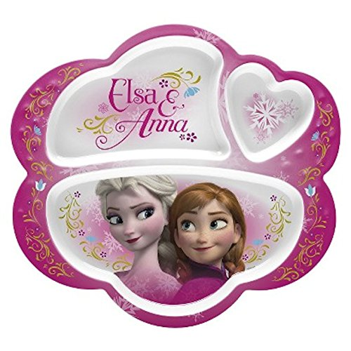 Disney Frozen Divided Plate BPA free