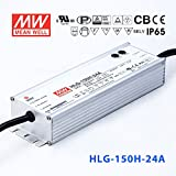 Meanwell HLG-150H-24A Power Supply - 150W 24V 6.3A - IP65 - Adjustable Output