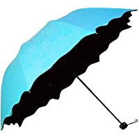 Honeystore Blossom Magic Compact Umbrella Triple Folding Anti-uv Dome Parasol