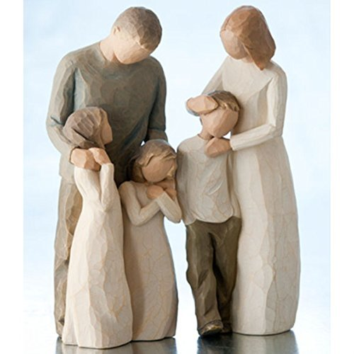 Willow Tree Parents with 3 Children by Willow Tree
