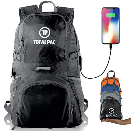 Totalpac – Hiking Daypack – Foldable Backpack for Traveling, Hiking & Camping