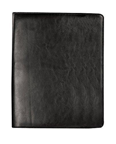 Bugatti Writing Case, Synthetic Leather, Black by Bugatti