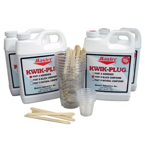Kwik Plug Black 1 Gal Kit by Master