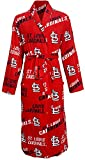 St. Louis Cardinals Mens Red Logo Poly Fleece Robe()