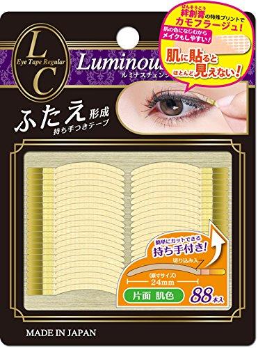 ルミナスチェンジ ふたえ形成アイテープ 片面 レギュラーサイズ 肌色のサムネイル