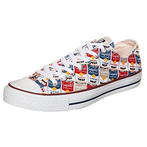 Taylor Erwachsene All Star Blau Sneaker Rot Gelb Converse Chuck OX Weiß Grau Unisex B4YxE5qw