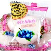 徐福记 夹馅棉花糖 果汁软糖多种口味散装500g