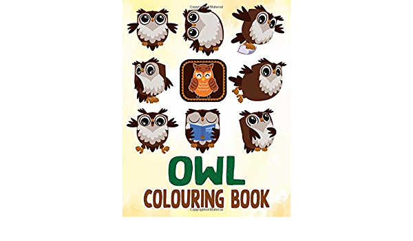 Owl Colouring Book Over 30 Colouring Pages Of Owl To Inspire Creativity And Relaxation Vol 2 Harry Kewell 9798608492167 Amazon Com Books