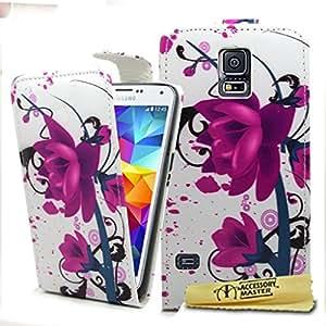 Accessory Master 5055716387353 - Funda para Samsung Galaxy S5, color Negro y Rosa
