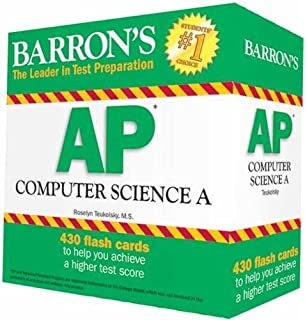 Amazon barrons ap computer science a 9780764143731 roselyn barrons ap computer science a flash cards fandeluxe Gallery