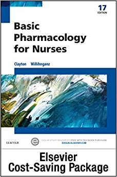 Basic Pharmacology for Nurses - Text & Study Guide Package, 17e